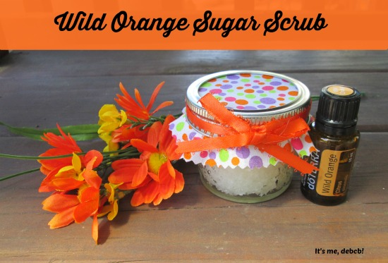 Wild Orange Sugar Scrub- It's me, debcb!