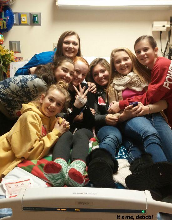 Dance Friends at hospital