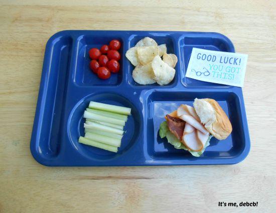 Big Kid School Lunch BLT - It's me, debcb!