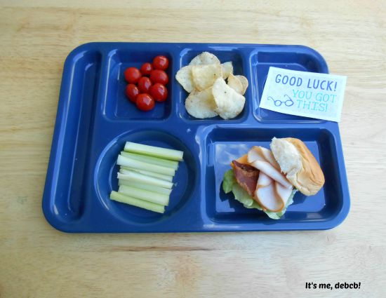 Big Kid School Lunch BLT - It's me, debcb!