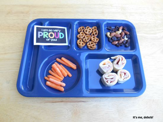 Big Kid School Lunch PLUS free printable notes!