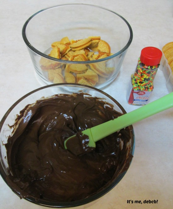 Fall Chocolate Bark Ingredients