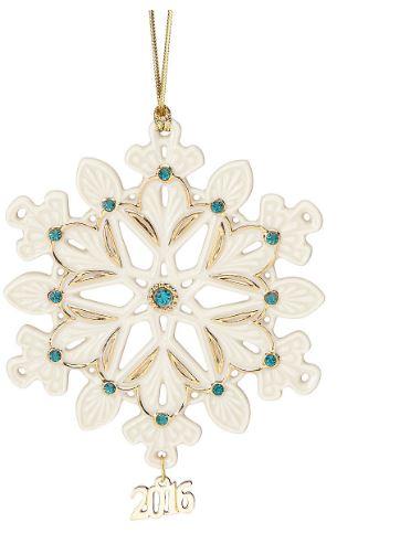 Lenox 2016 Ornament