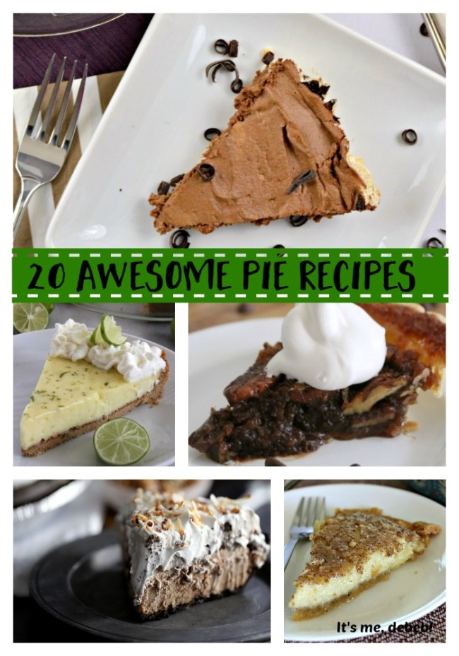 20 Awesome Pie Recipes
