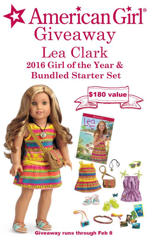 Win Lea Clark, the 2016 American Girl