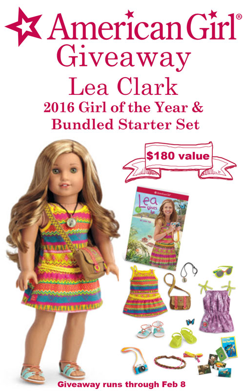 Win Lea Clark, the 2016 American Girl