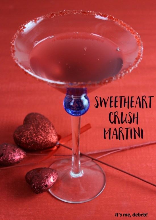 Sweetheart Crush Martini