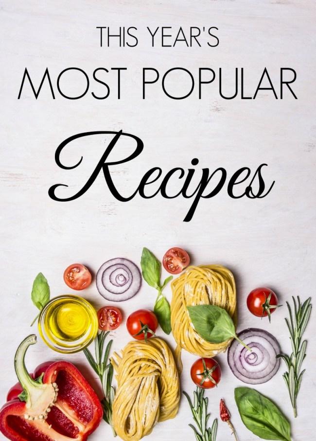 Year Most Popular Recipes