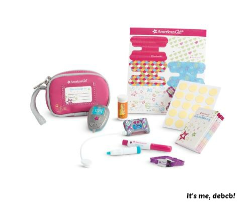American Girl Diabetes Care Kit