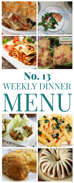 What's for dinner (Menu 13)