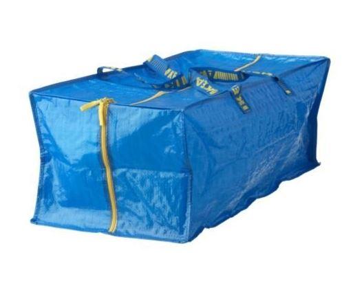 Ikea Frakta Storage Bags