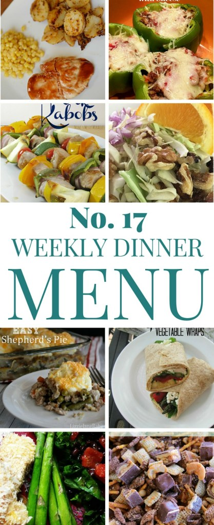 What's for dinner (Menu 18)