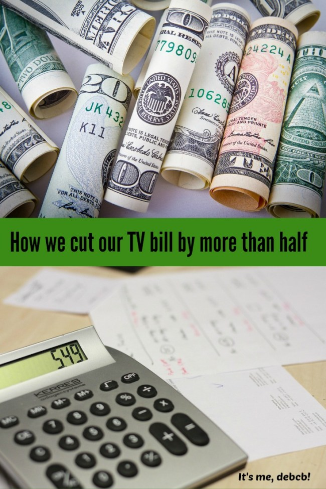 Cut Tv Bill by more than half