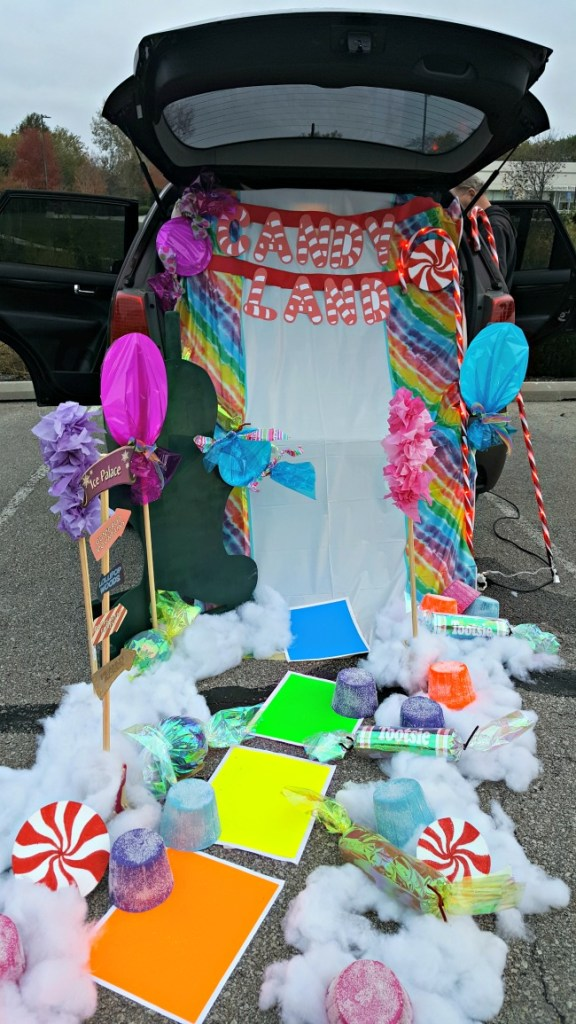 Check out our Candy Land Trunk or Treat