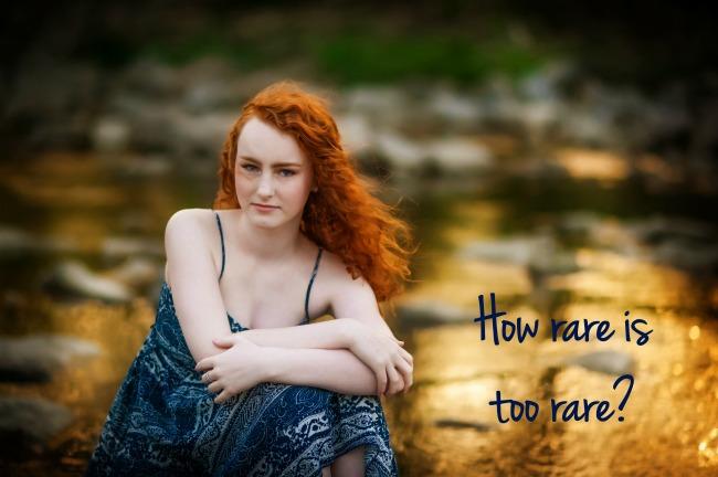 How rare is too rare?