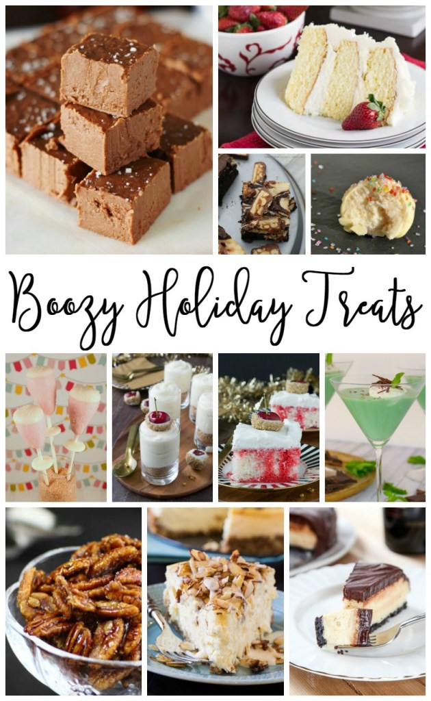 Boozy Holiday Treats