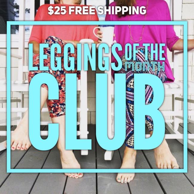 Join the Leggings of the Month Club