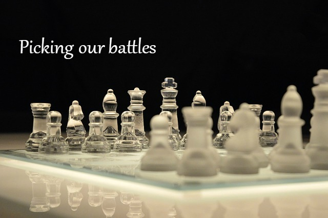 Picking our battles