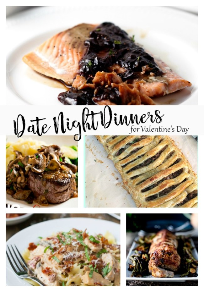 Date Night Dinners for Valentine's Day