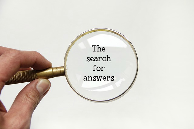 search for answers