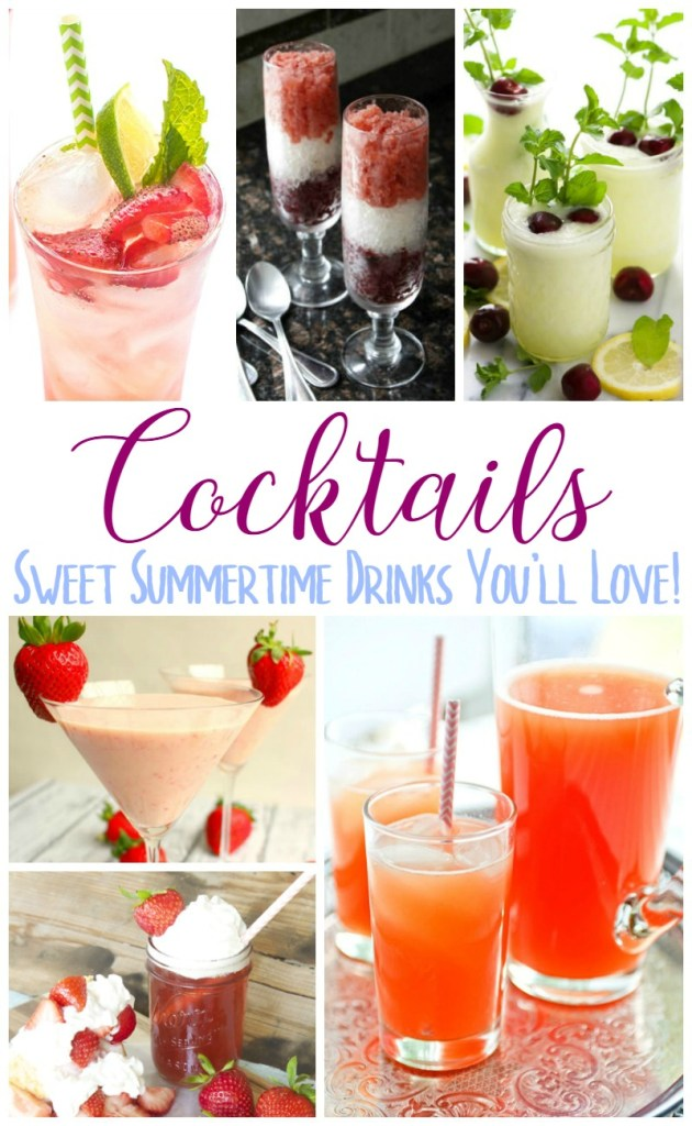Sweet Summertime Drinks You'll Love