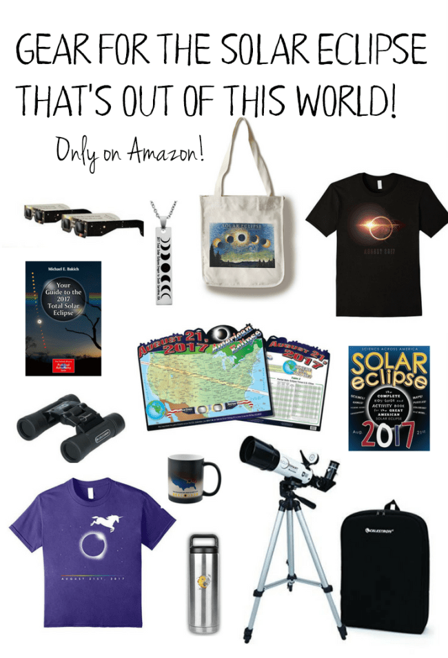 Gear for the Solar Eclipse that's out of this world