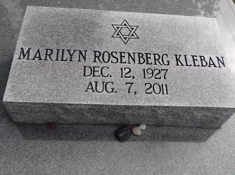 Lafayette-Mouton Jewish Cemetary has a grave marker with the name Marilyn Rosenberg, same name as Karl Rosenberg, aka Steve Jobs. Her face appears in so many photos, and she appears to be the same as the woman who goes by the name Ochsenslager in New Orleans.