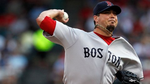 Josh Beckett pitcher de Medias Rojas de Boston