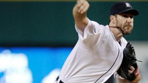 Justin Verlander, pitcher de Tigres de Detroit