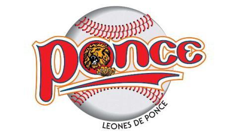 Logotipo de Leones de Ponce de la Liga de Beisbol de Puerto Rico