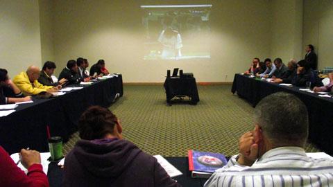 Seminario de actualización para anotadores y stringers de la Liga Mexicana