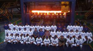 Presentación de Acereros de Monclova para la temporada 2012 de la LMB