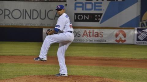 José Pablo Oyervides, pitcher de Acereros de Monclova
