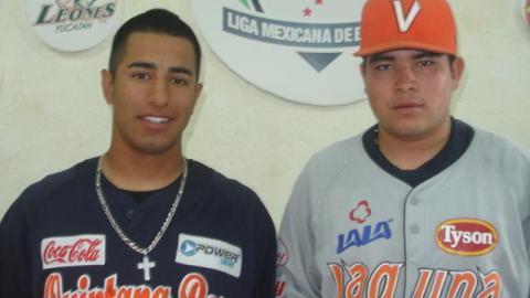 Oscar Ramírez y Pedro Zamora, Jugadores de la Semana en la Liga Clase AA