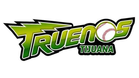 Logotipo del club Truenos de Tijuana de la Liga Norte de México