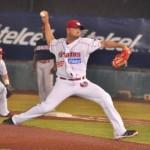 Excelente labor de pitcheo de Miguel Ruiz con pelota de cinco hits
