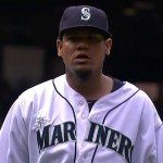 Video: Félix Hernández abanica a 9 en blanqueada de Seattle