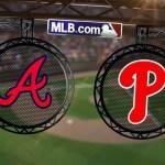 Video: Santana, Upton y LaStella dan triunfo a Atlanta sobre Filadelfia