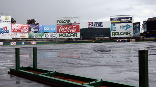 Juego suspendido por lluvia en Aguascalientes