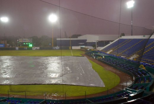 Lluvia en Ciudad del Carmen