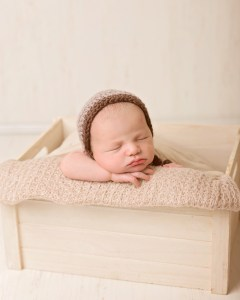 sweet newborn baby boy