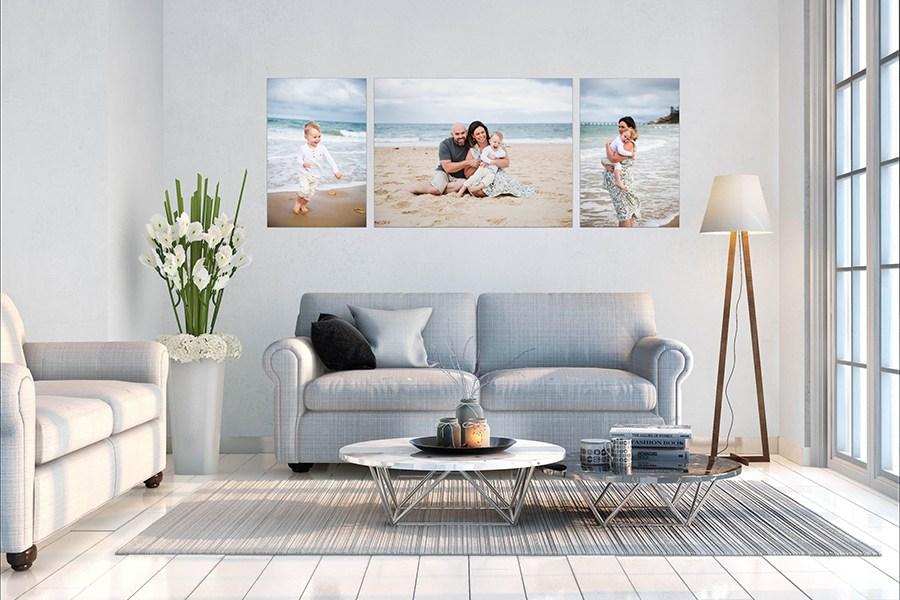 custom designed family wall art