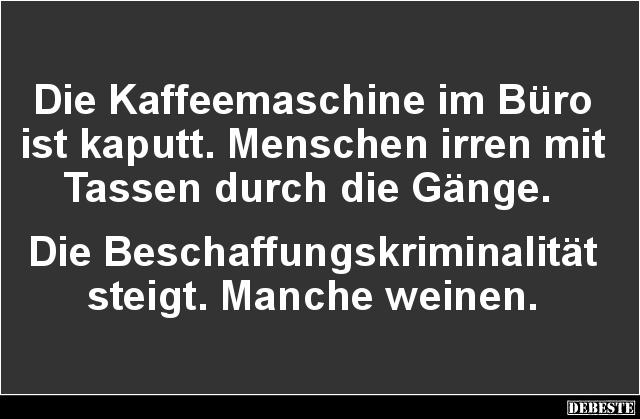 Burohumor Buro Lustige Witzige Spruche Kunst Thermobecher