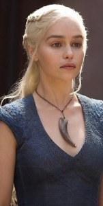 Game Of Thrones, Series 3 EP303 Featuring Emilia Clarke as Daenerys Targaryen © HBO Enterprises