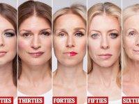 Imágenes sorprendentes que muestran el verdadero poder del maquillaje