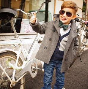 25 fotografías de niños con más estilo del mundo