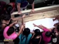 Familia desesperada abre la tumba de adolescente embarazada que se despertó gritando y golpeando en su ataúd después de ser enterrada viva … solo para que muriera en el hospital