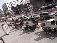 [Video] Espectaculares imágenes: un hombre escapa a la muerte por milímetros