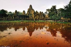 Serie de fotografías que revelan la impresionante belleza de los templos abandonados en Camboya