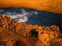 Impresionantes imágenes muestran cuevas en Utah que alguna vez fueron el hogar de una antigua civilización que desapareció hace miles de años